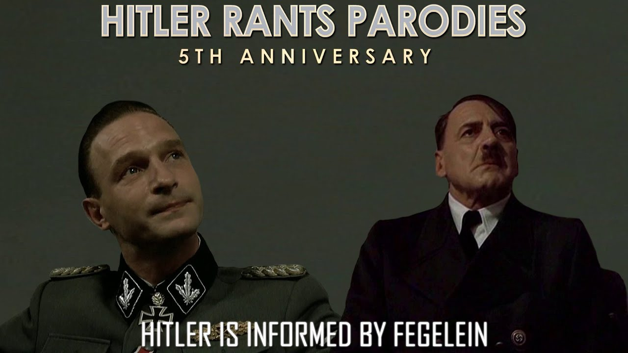 Hitler is informed by Fegelein