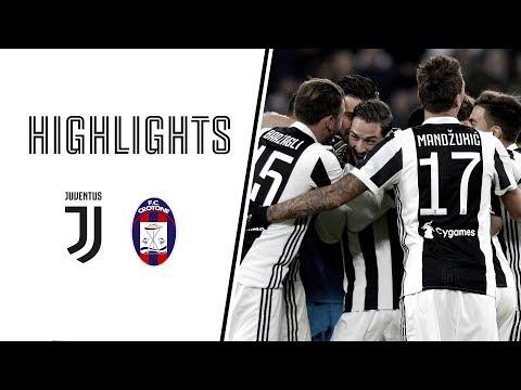 Highlights: juventus vs crotone - 3-0 - serie a - 26.11.2017