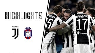 Highlights: juventus vs crotone - 3-0 - serie a - 26.11.2017