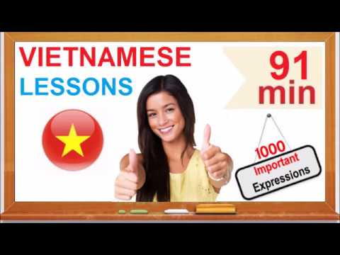 Learn Vietnamese - Common Words & Expressions