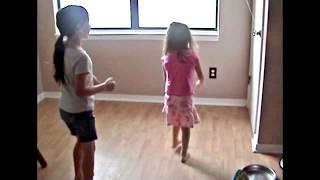 gymnastics in the kitchen jas does a1 handed cartwheel 1 3