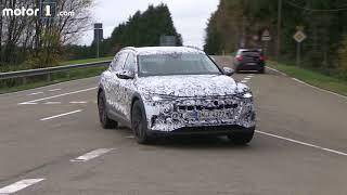 Audi E-Tron Spy Video