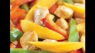 How To Prepare Mango Chicken Stir Fry-  Healthy Food, Funny Hot Recipes,healthy Tips