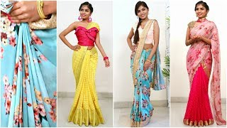 3 Bollywood Inspired SAREE DRAPING- How To Make PERFECT PLEATS | #Fashion #Style #Anaysa