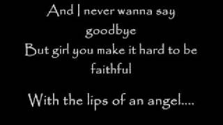 Hinder - Lips of An Angel with LYRICS