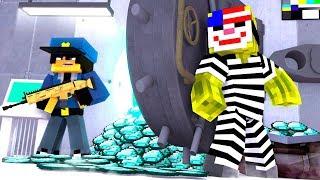 EINBRUCH im POLIZEI TRESOR?! - Minecraft