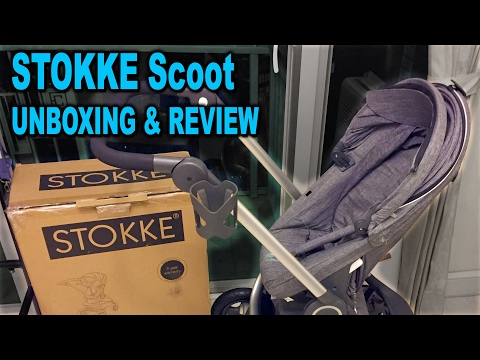 Stokke Scoot Stroller - Unboxing, assembly and in-depth review - Clueless Dad