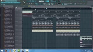 Crystal Lake ft. Kifi - Into The Sunset (Headhunterz Edit) Drop Remake FL Studio 11