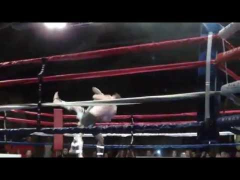 MMA Knockouts - Darren Hunsdon - Trench Warfare Highlights - Whitehall NY