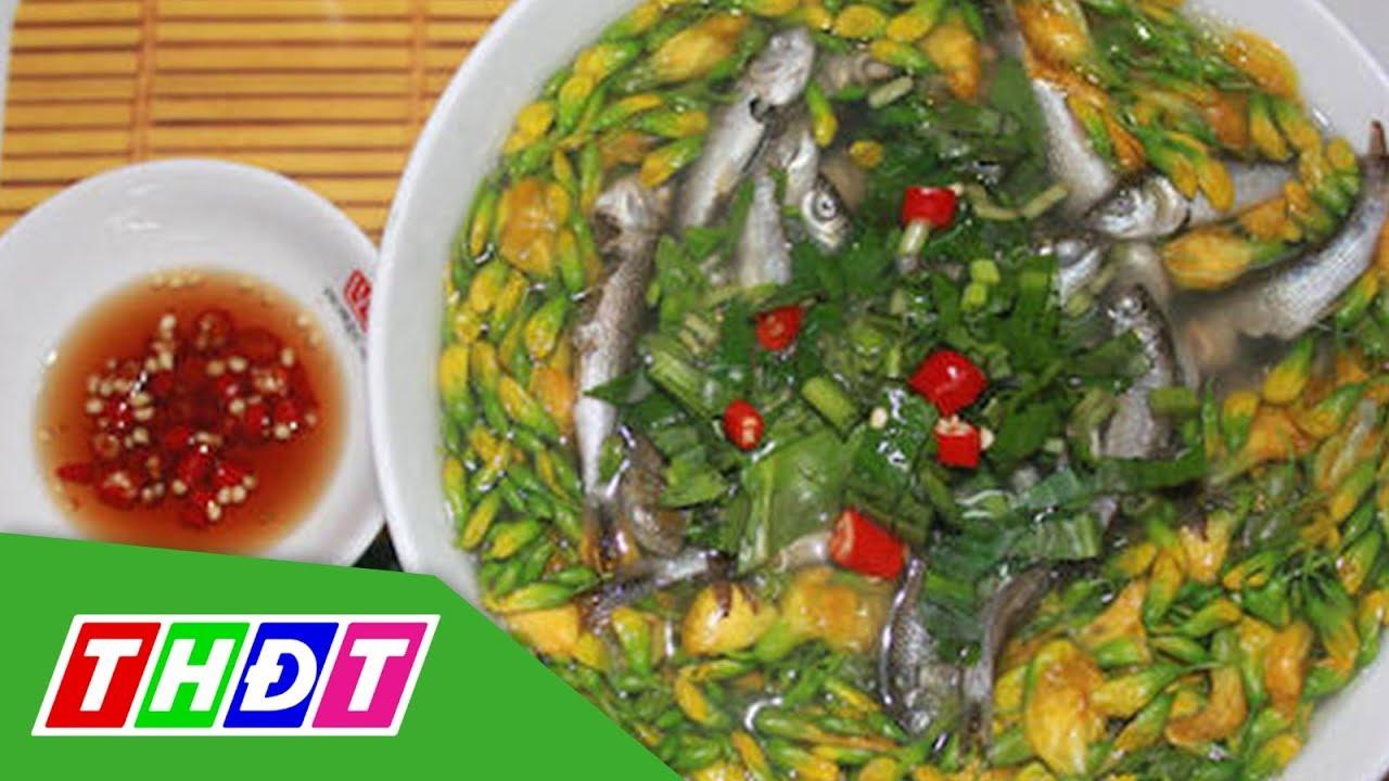 Món ngon từ canh cá linh bông điên điển   THDT