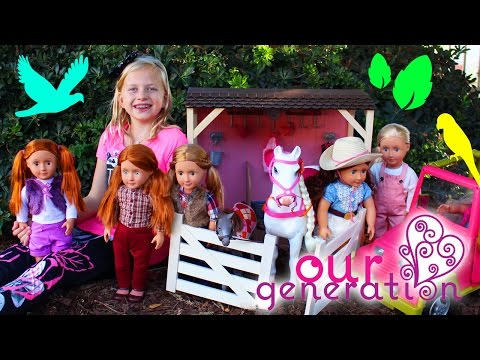 Alyssa's Dolls Come to Life Part 2 || Best Friends Picnic