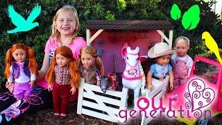 alyssas dolls come to life part 2 best friends picnic