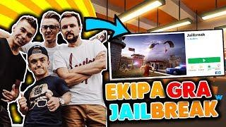 *Friz i Ekipa gra w JailBreak* Roblox PL