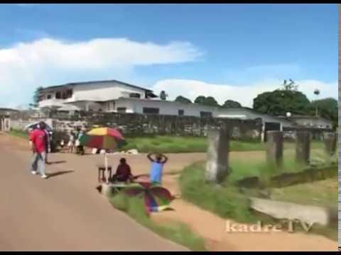 Liberia, Monrovia journey through the city