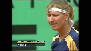 WTA 1999 Roland Garros Final Graf vs Hingis ENG 720p