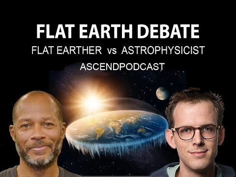 Allegedly Dave vs Particle Physicist - Flat Earth Debate thumbnail