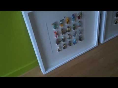 lego minifigures ikea ribba project youtube. Black Bedroom Furniture Sets. Home Design Ideas