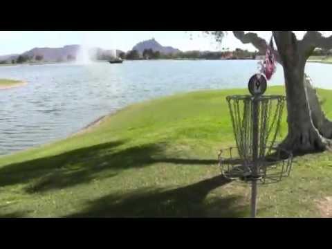 Disc Golf Adventure Bros Episode 9 Warming up at Fountain Hills, Arizona