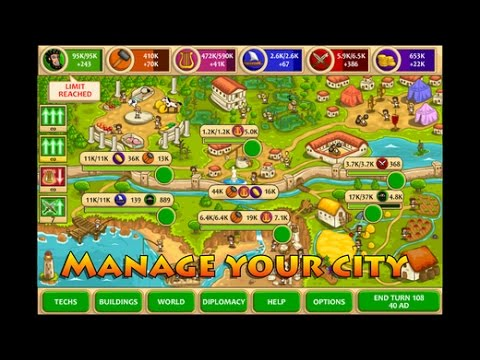 Pre Civilization Marble Age | iOS Gameplay Video