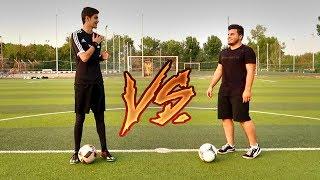 تحدي التصويب والمهارات ضد عبد الرحمن!!! | تحديات رمضانية🔥 | Football Challenges