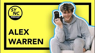ALEX WARREN ON LIVING IN THE HYPEHOUSE+TIKTOK LIFE!| TheSync Podcast Ep 6