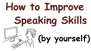 How to improve your English speaking skills (by yourself) thumbnail