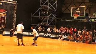 Adidas Derrick Rose Vs Wuyou 1on1(one 5'8 Superstar Of Freestyle In China)