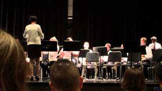Waltham Honors Spring Concert - 6/3/15 Dixieland Rag - Grant Hull.