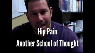 Most Common Cause of Hip Pain - Another School of Thought!