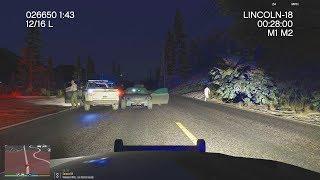LSPDFR - Day 645 - Dashcam of suspect fleeing traffic stop