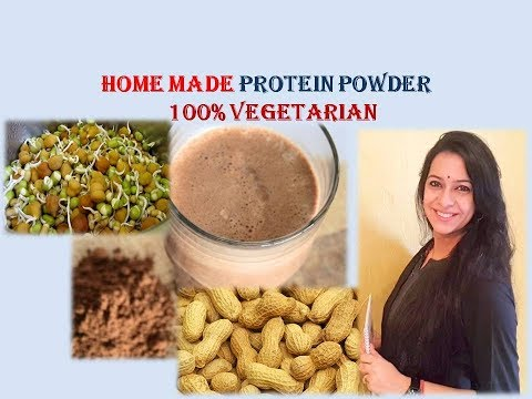 Recipe of Vegetarian Home Made Protein Powder for weight loss and health