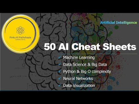 50 AI Cheat Sheets