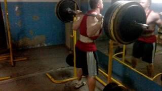 Приседание со штангой 195kg на 3 раза | 80 kg