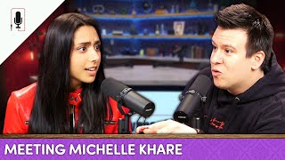 Michelle Khare on Leaving Buzzfeed, Failures, Marvel Dreams & More! | Ep. 22 A Conversation With