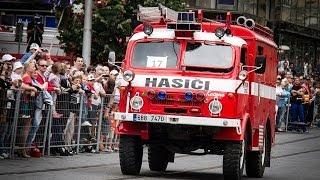 POŽÁRY.cz: Požár na brněnském náměstí Svobody hasilo téměř 50 hasičských aut