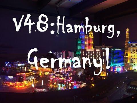 Travel Vlog 48- Hamburg, Germany. Miniature World!
