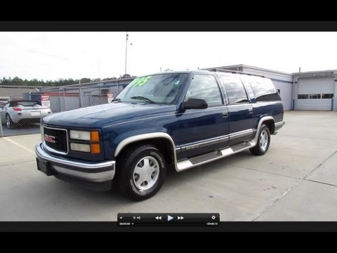"1999 GMC Suburban ""Choo Choo Customs"" Start Up, Engine, and In Depth Tour"