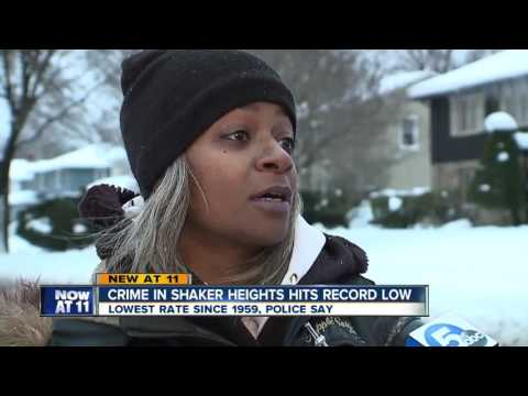 Crime in Shaker Heights hits record low