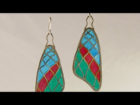 Plique-à-Jour Enameling with ACC instructor James Lynn
