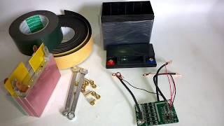 DIY 12V 5Ah Motorcycle Powerful Li-Ion Battery