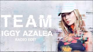 iggy azalea team radio edit video, iggy azalea team radio