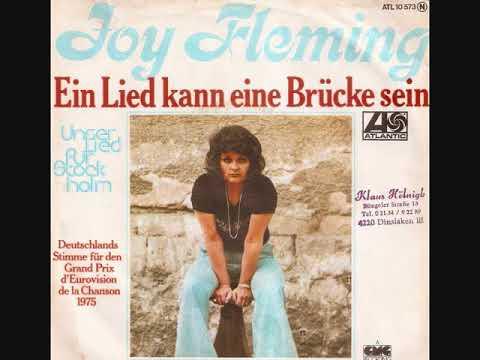 Joy Fleming  // Ein Lied kann eine Brücke sein.