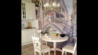 Фотообои для кухни: 100 фото интерьеров(Ищите идеи для ремонта кухни? Посмотрите как фотообои для кухни создают эффект открытого пространства..., 2015-06-23T15:14:21.000Z)