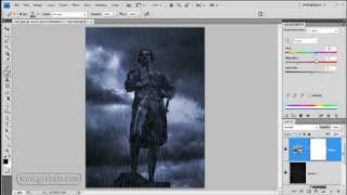 Make it rain with Photoshop - Photoshop Week 42