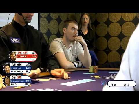 MPN Poker Tour Manchester Final Table