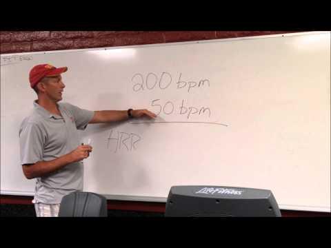 #29 Calculating Heart Rate Reserve Saddleback Instruction