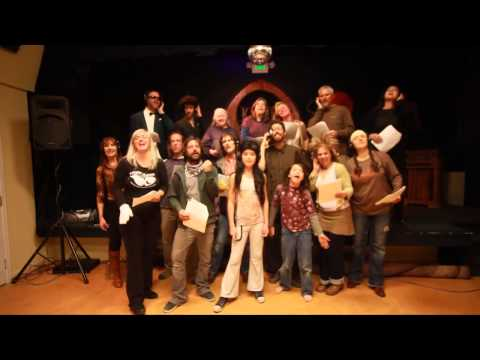 Paonia Players We Are The World tribute