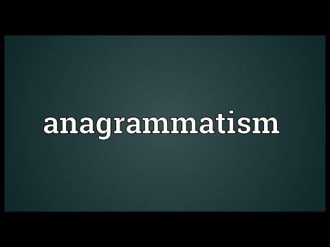 Header of anagrammatism