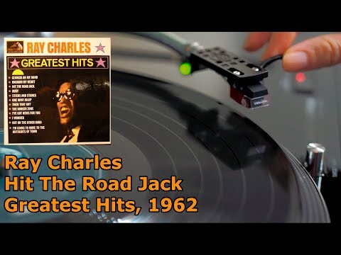 Ray Charles - Hit The Road Jack (Greatest Hits), 1962, Vinyl video, 4K