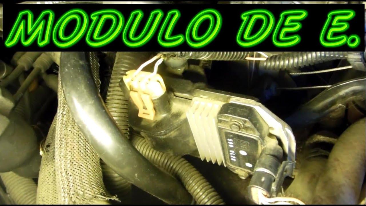 Como Probar Modulo De Encendido Y Bobina Chevrolet Youtube